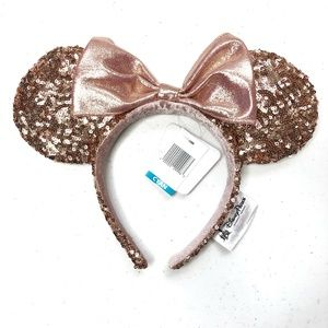 Original Rose Gold Minnie Mouse Ears (Mickey) NWT